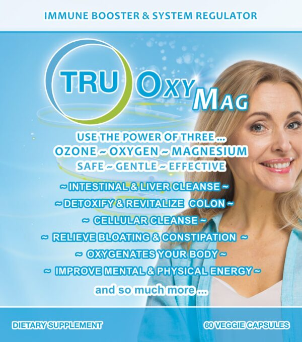 TRUOXYMAG Front Label